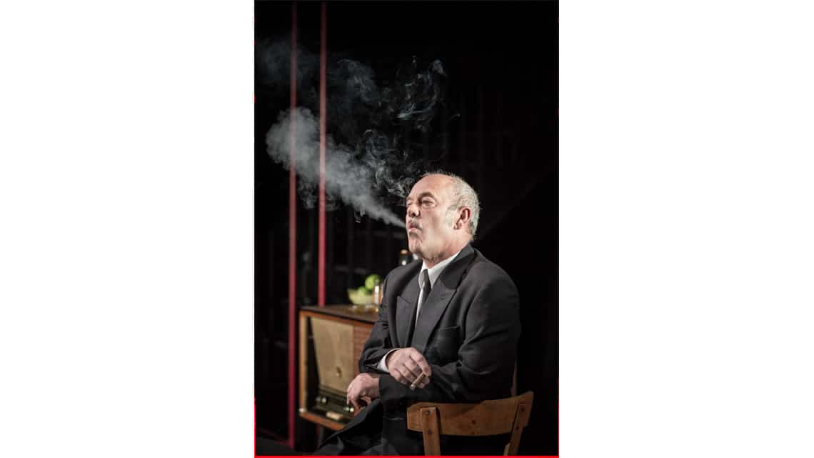 Keith Allen in The Homecoming |Photo: Marc Brenner | First Look: Jamie Lloyd's The Homecoming