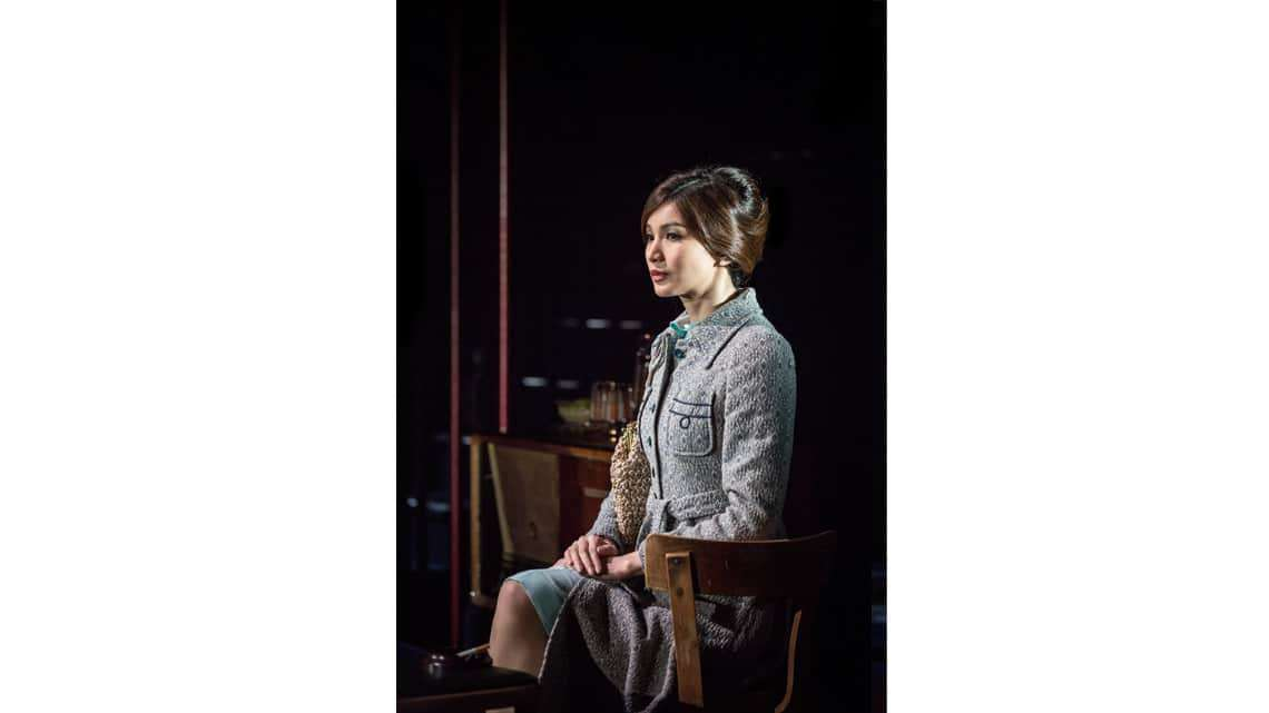 Gemma Chan in The Homecoming  Photo: Marc Brenner   First Look: Jamie Lloyd's The Homecoming