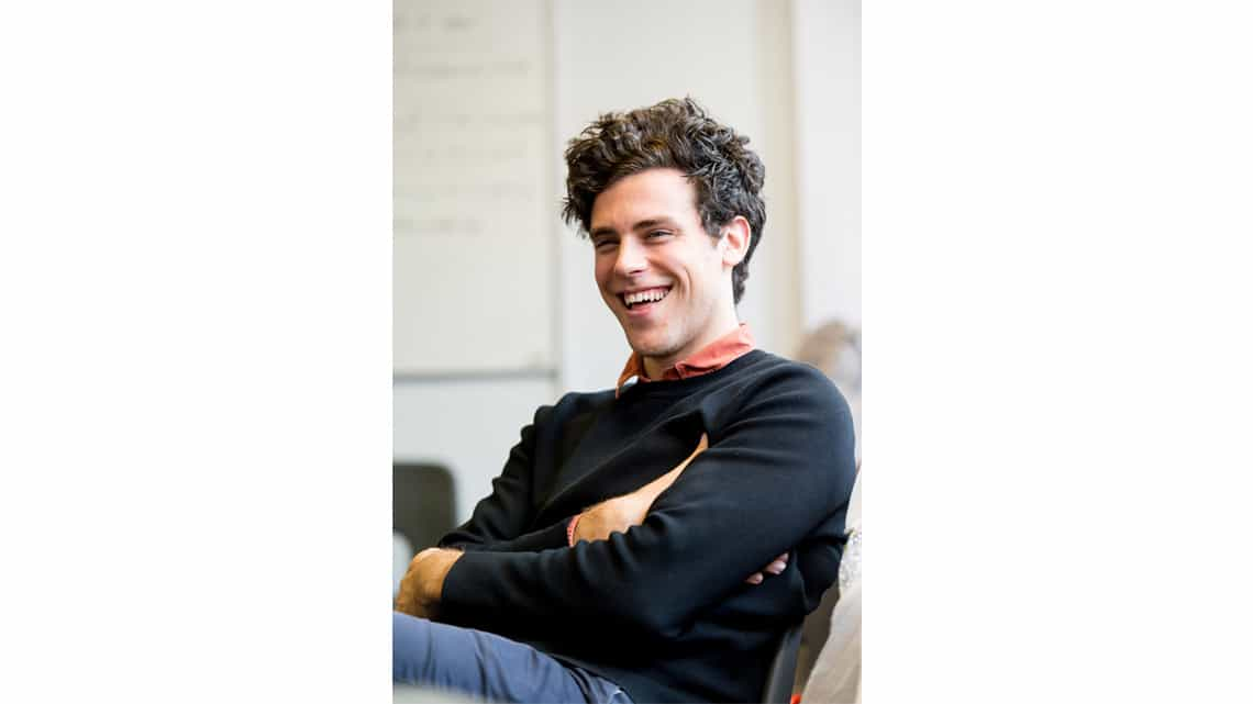 Charlie Fink (Composer). The Lorax at The Old Vic - Photo: Manuel Harlan. | Photos: The Lorax in rehearsal