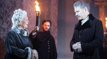 Judi Dench & Kenneth Branagh in The Winter's Tale   Photo: Johan Persson