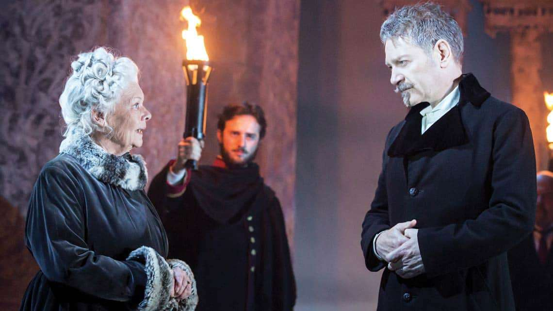 Judi Dench & Kenneth Branagh in The Winter's Tale | Photo: Johan Persson | Kenneth Branagh's The Winter's Tale at the Garrick Theatre
