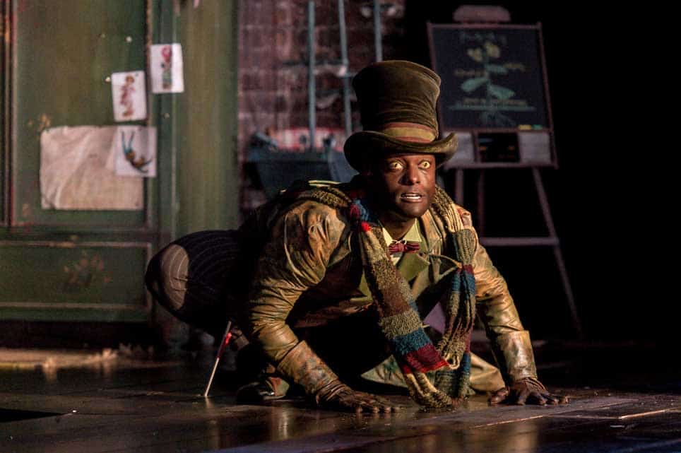 Arthur Kyeyune as the Crocodile | Photo: Manuel Harlan | First look at Jonathan Munby's Wendy and Peter Pan at the RSC