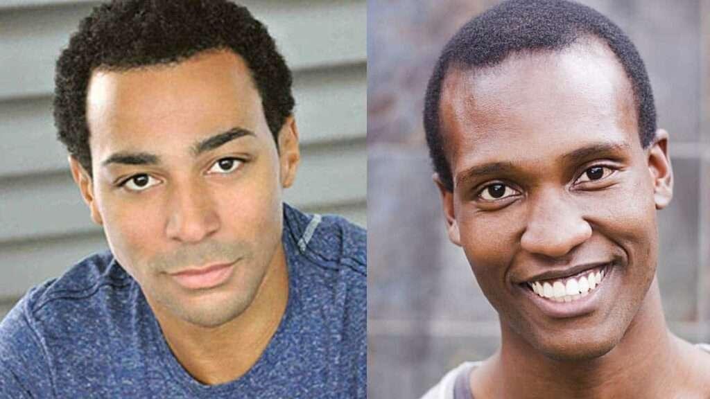 (L-R) Charl Brown and Sifisio Mazibuko | Motown The Musical