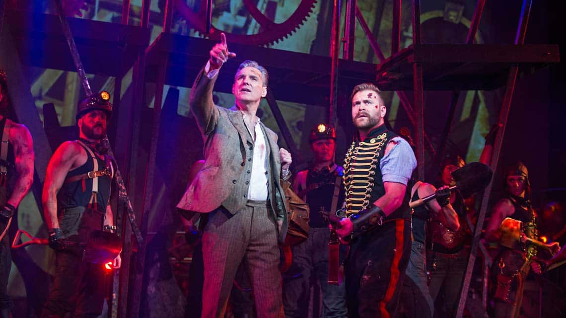 | The War of the Worlds at the Dominion Theatre