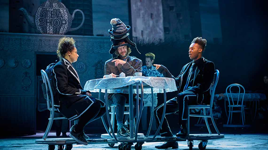 | WONDER.LAND at the NT's Olivier Theatre