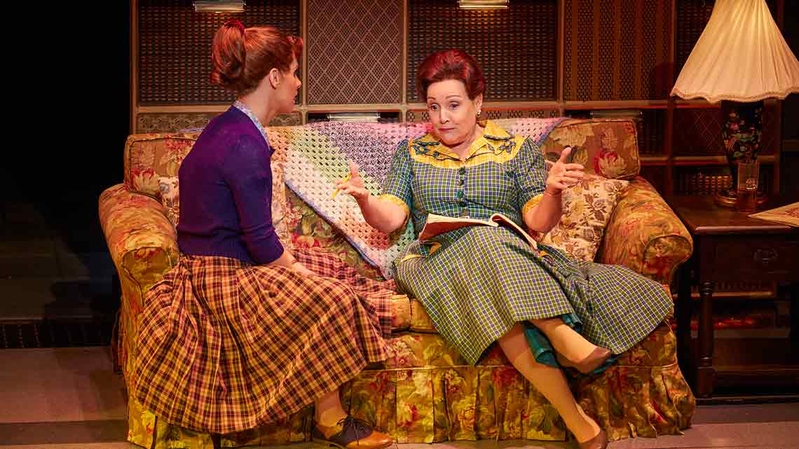 Cassidy Janson (Carole King) and Diane Keen (Genie Klein) in Beautiful The Carole King Musical. Photo Credit Brinkhoff Moegenburg. | Cast update for Beautiful The Carole King Musical