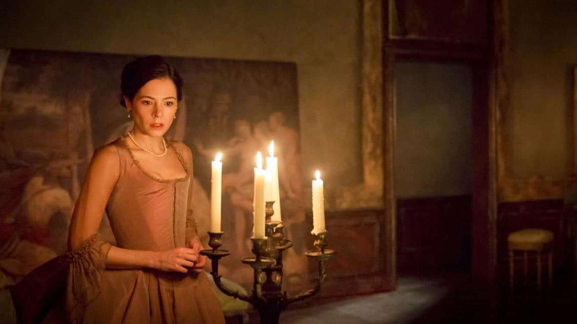 Elaine Cassidy in Les Liaisons Dangereuses at the Donmar Warehouse. © Johan Persson | Photos: Les Liaisons Dangereuses' at the Donmar Warehouse