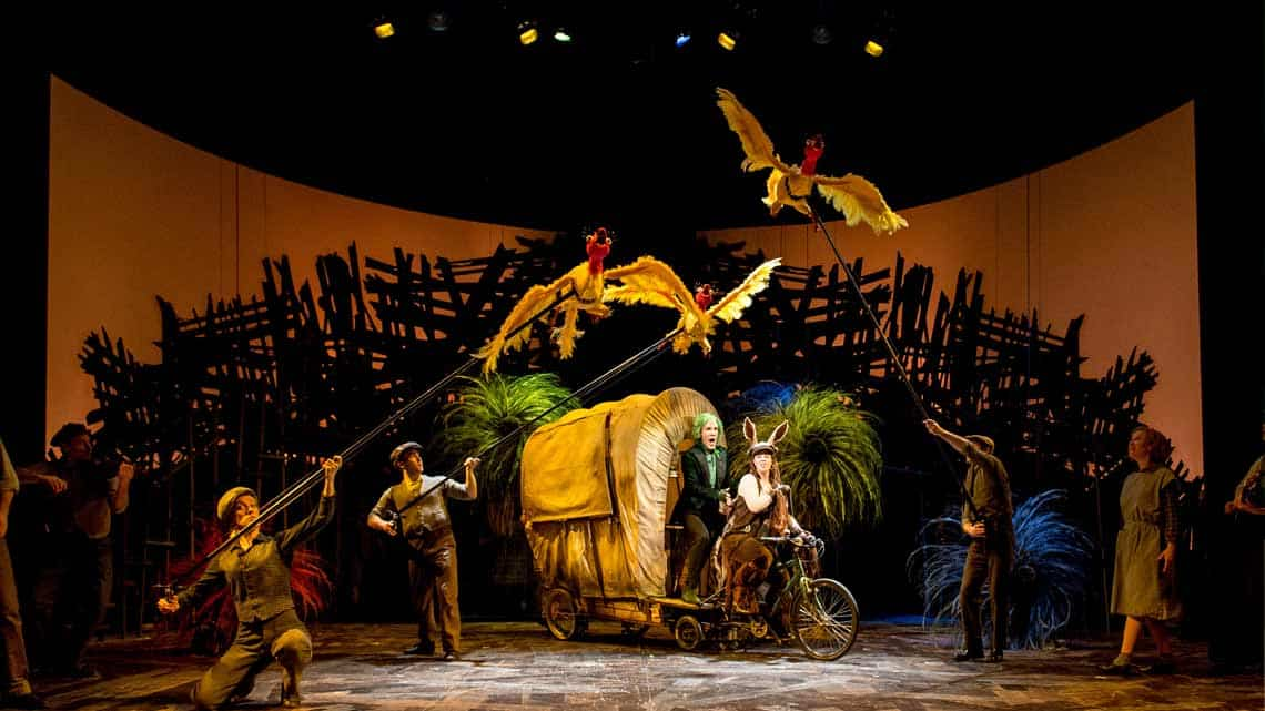The Lorax | Old Vic Theatre | Photo: Manuel Harlan | Dr. Seuss's The Lorax at the Old Vic