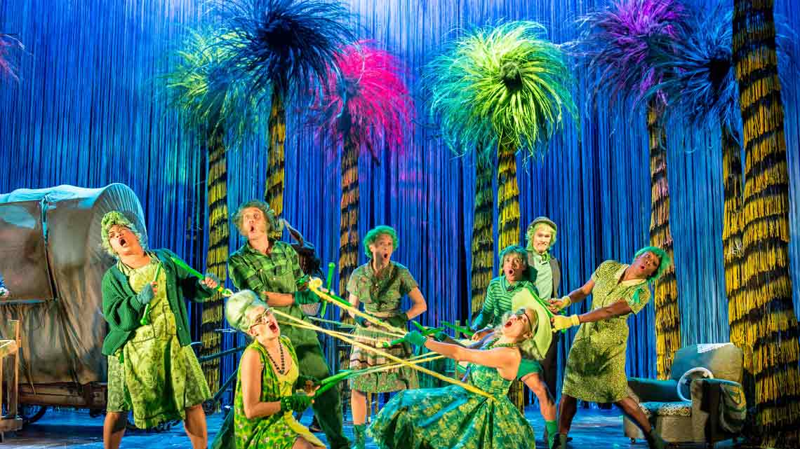 The Lorax | Old Vic Theatre | Photo: Manuel Harlan | Reviews round-up: The Lorax at the Old Vic