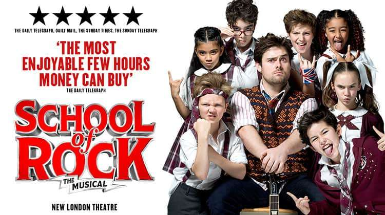School of Rock, New London Theatre