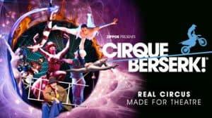 Cirque Berserk, Peacock Theatre, London