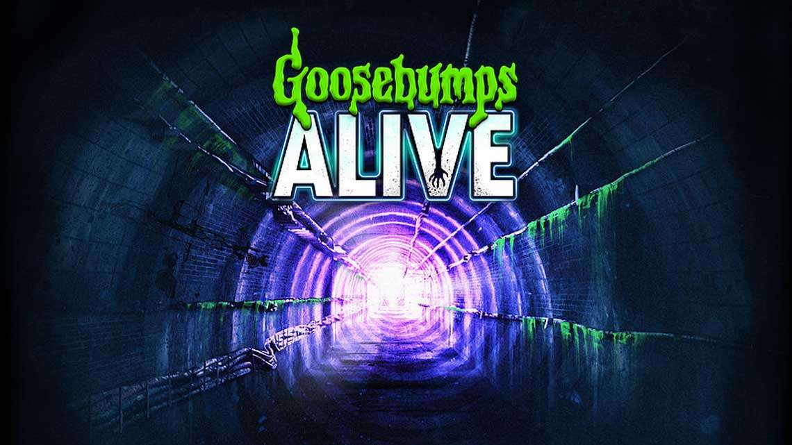   Goosebumps Alive at the The Vaults