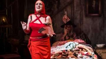 Sheila Hancock and Jenna Russell in Grey Gardens | Southwark Playhouse | Photot: Scott Rylander