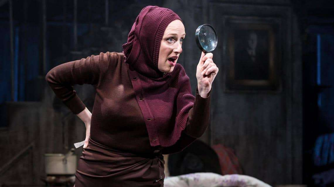 Jenna Russell in Grey Gardens | Southwark Playhouse | Photot: Scott Rylander | First Look: Sheila Hancock and Jenna Russell in Grey Gardens