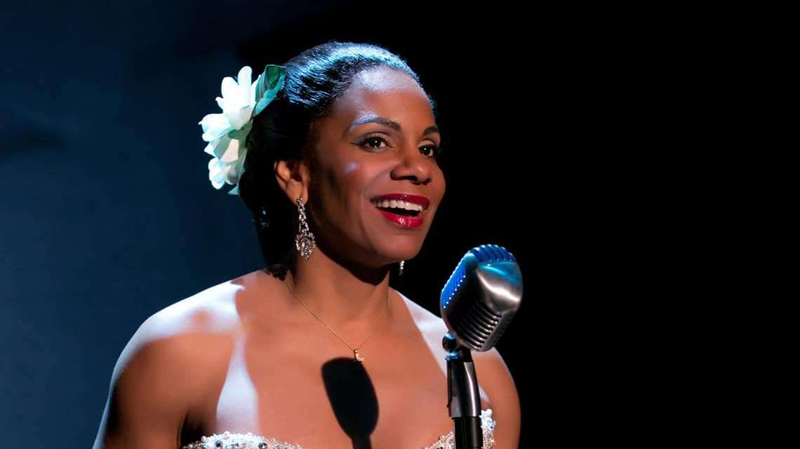 Audra McDonald in Lady Day at Emerson's Bar & Grill. Photo: Evgenia Eliseeva