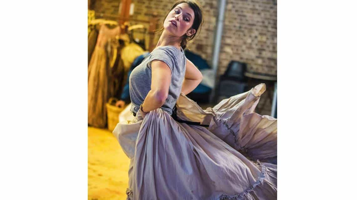 Gemma Arterton (Nell Gwynn) in Nell Gwynn. Photo: Tristram Kenton.