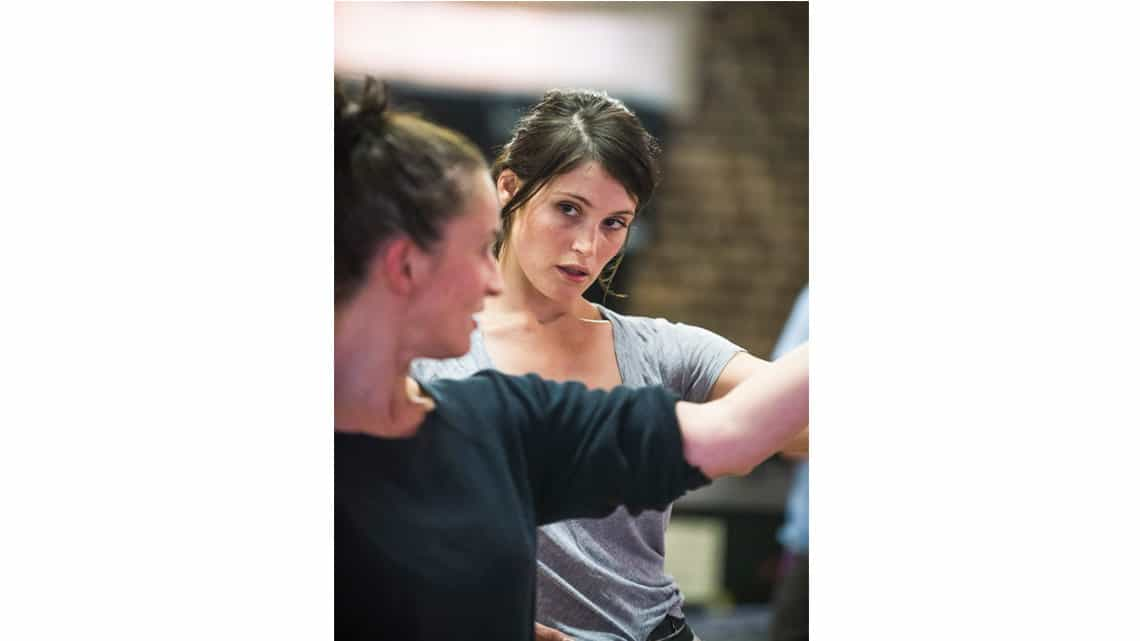 Gemma Arterton (Nell Gwynn) in Nell Gwynn. Photo: Tristram Kenton. | First Look: Gemma Arterton in Nell Gwynn rehearsals