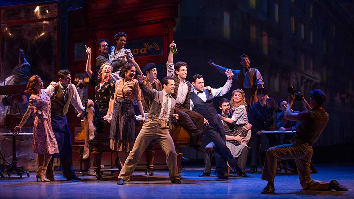 | An American in Paris at the Dominion Theatre