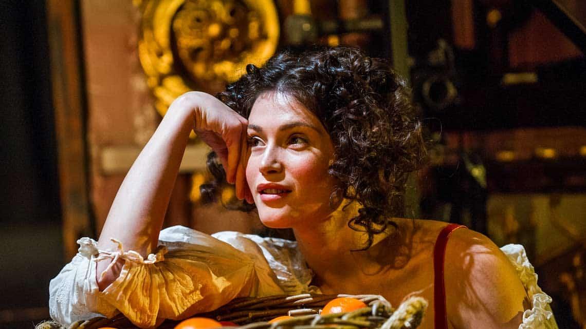 | Gemma Arterton in Nell Gwynn