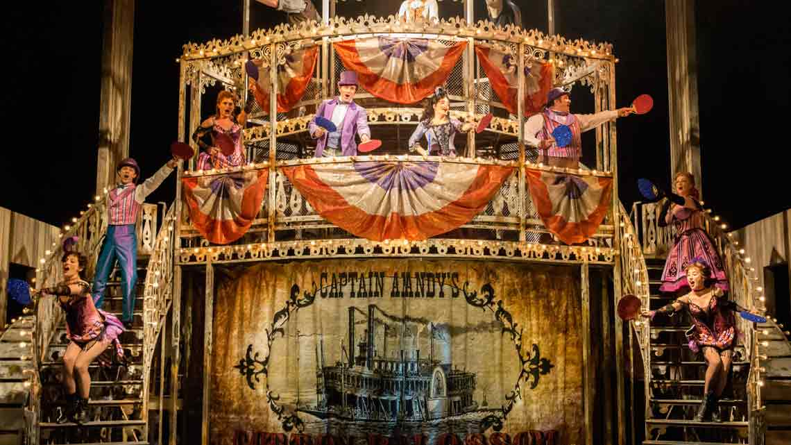 | Show Boat at the New London Theatre