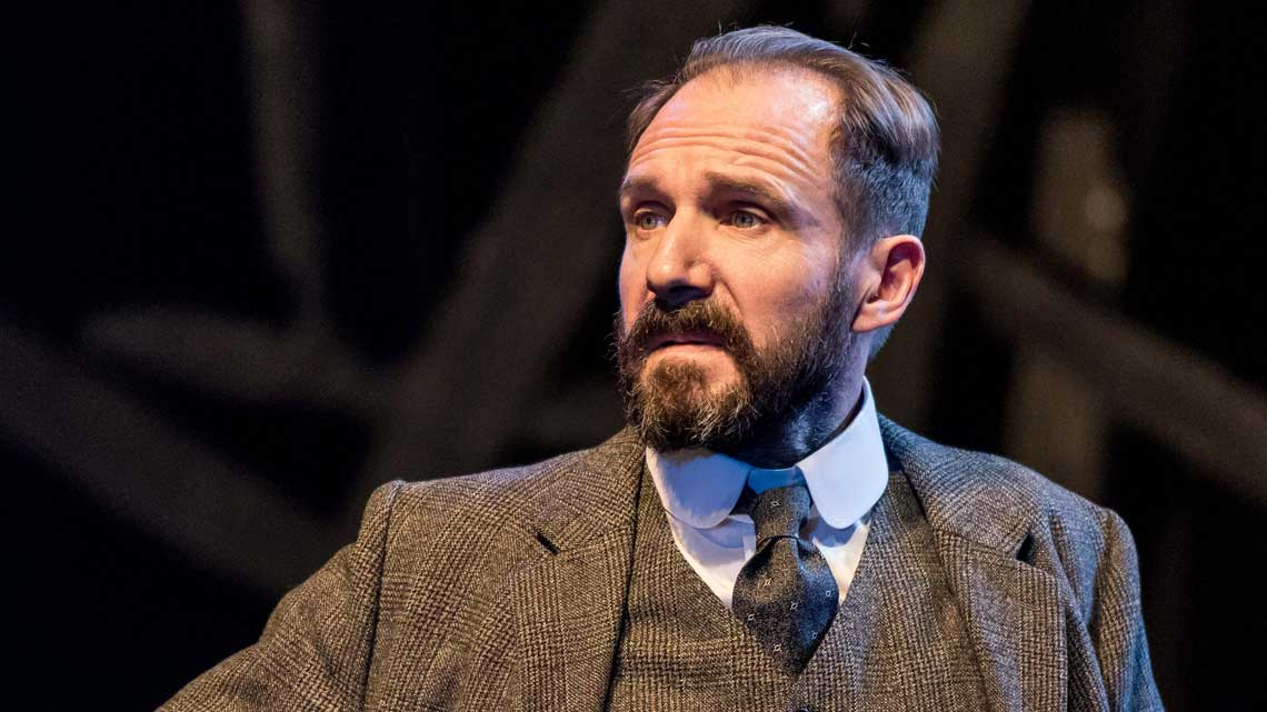 Ralph Fiennes (Halvard Solness) in The Master Builder at The Old Vic. Photo: Manuel Harlan
