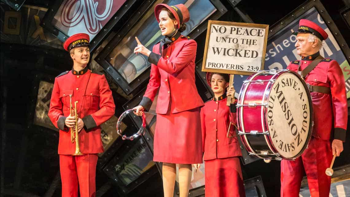 Guys and Dolls UK Tour | Photo  Johan Persson