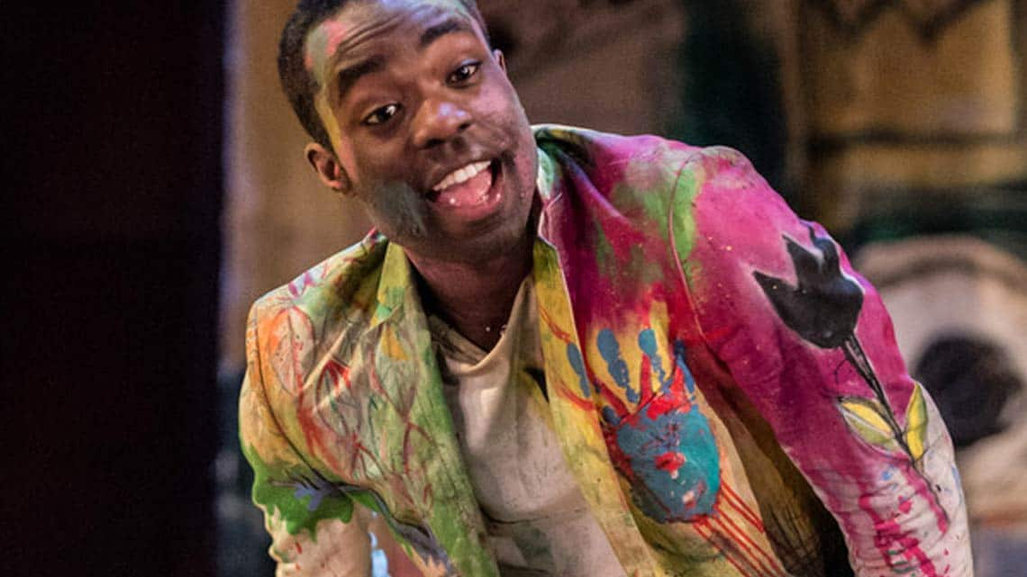 Paapa Essiedu |Hamlet | RSC | 2016 | Photo: Manuel Harlan | Paapa Essiedu stars as Hamlet at the Royal Shakespeare Company