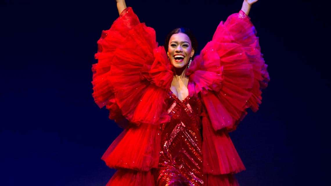Lucy St Louis in Motown The Musical, Shaftesbury Theatre, London