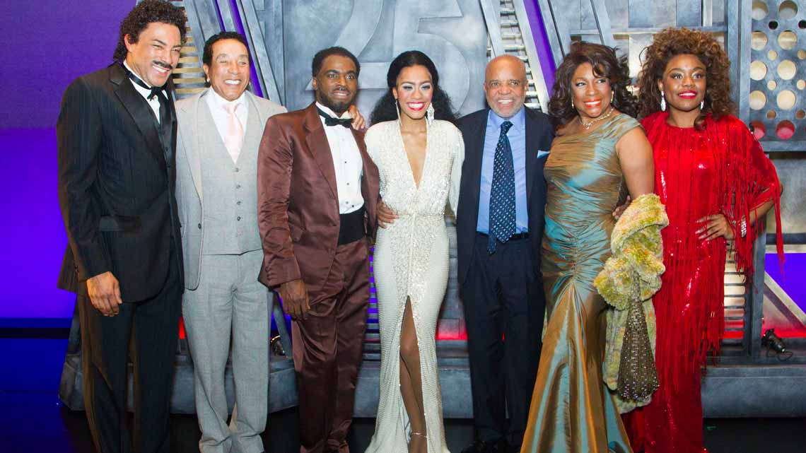 at Motown The Musical. Photo credit: Dan Wooller | Smokey Robinson & Mary Wilson among guests at Motown first night