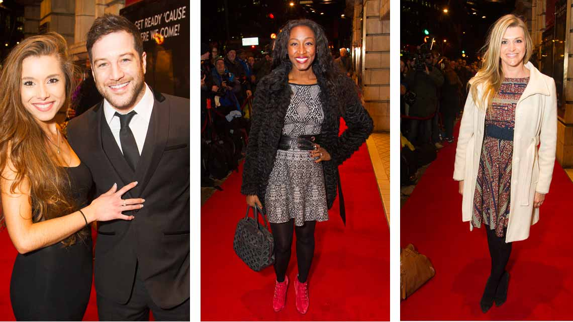 Amber Hernaman,Matt Cardle, Beverley Knight & Anna Williamson at Motown The Musical. Photo credit: Dan Wooller | Smokey Robinson & Mary Wilson among guests at Motown first night