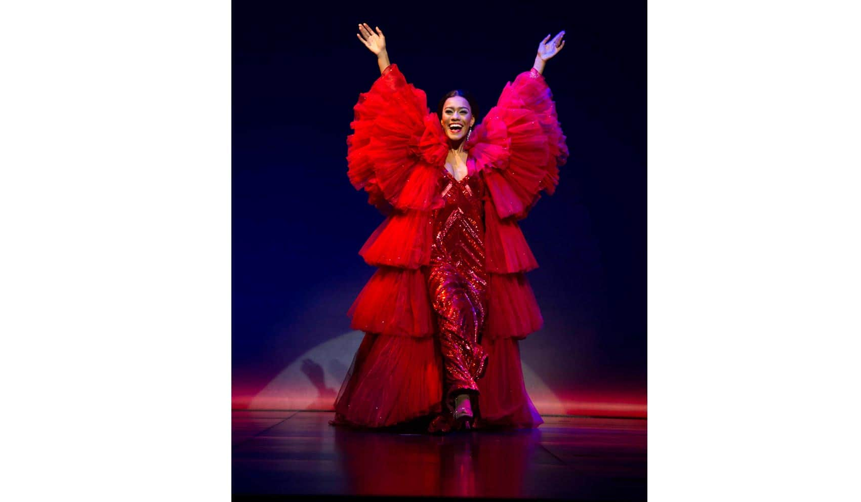 Lucy St. Louis (Diana Ross) in Motown the Musical . Photo: Alastair Muir | First Look: Motown the Musical