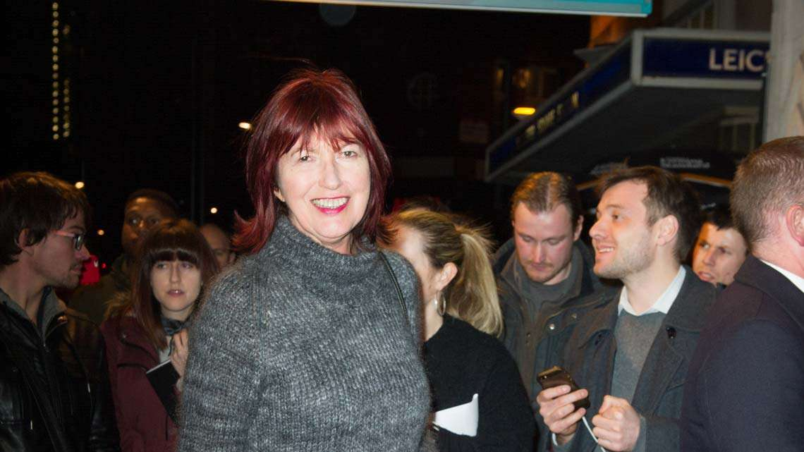 Janet Street Porter at People, Places & Things | Wyndham's Theatre | Photo: Craig Sugden | Harvey Keitel attends opening night of People, Places & Things