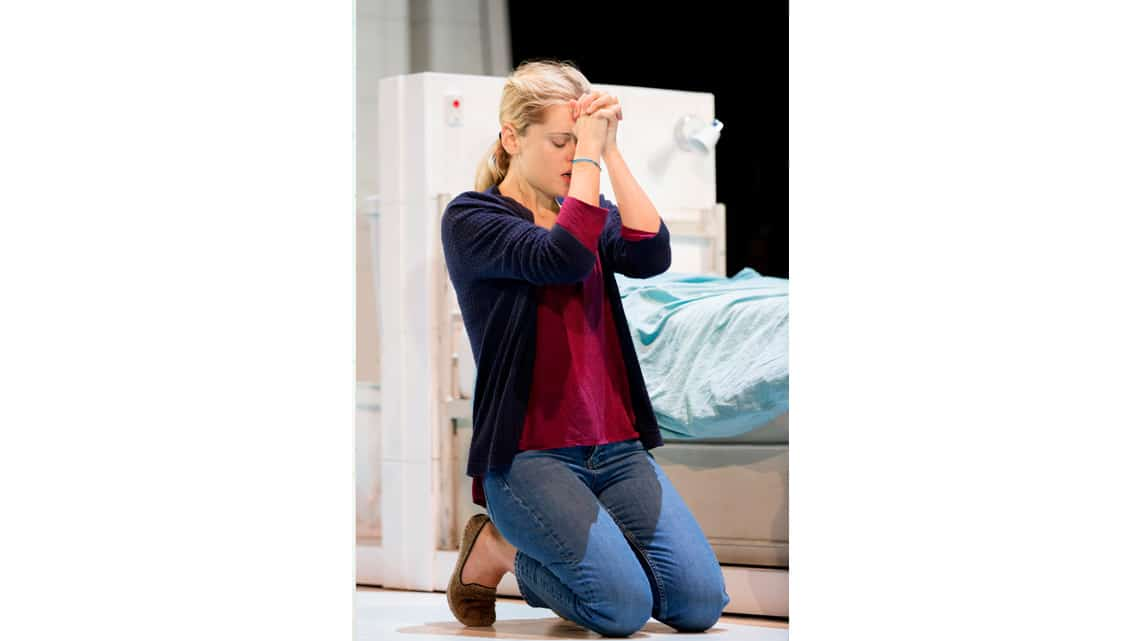 Denise Gough in People, Places & Things   Photo: JohanPersson   In Pictures:  People, Places & Things