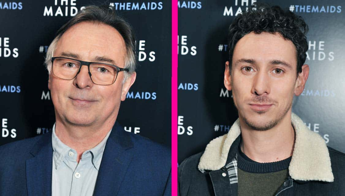 Ron Cook & Al Weaver at The Maids opening night | Photo: Paul Clapp | Kit Harington & Elizabeth McGovern among guests at The Maids first night