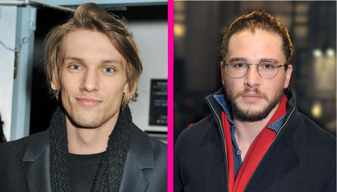 Jamie Campbell-Bower and Kit Harington at The Maids opening night   Photo: Paul Clapp   Kit Harington & Elizabeth McGovern among guests at The Maids first night