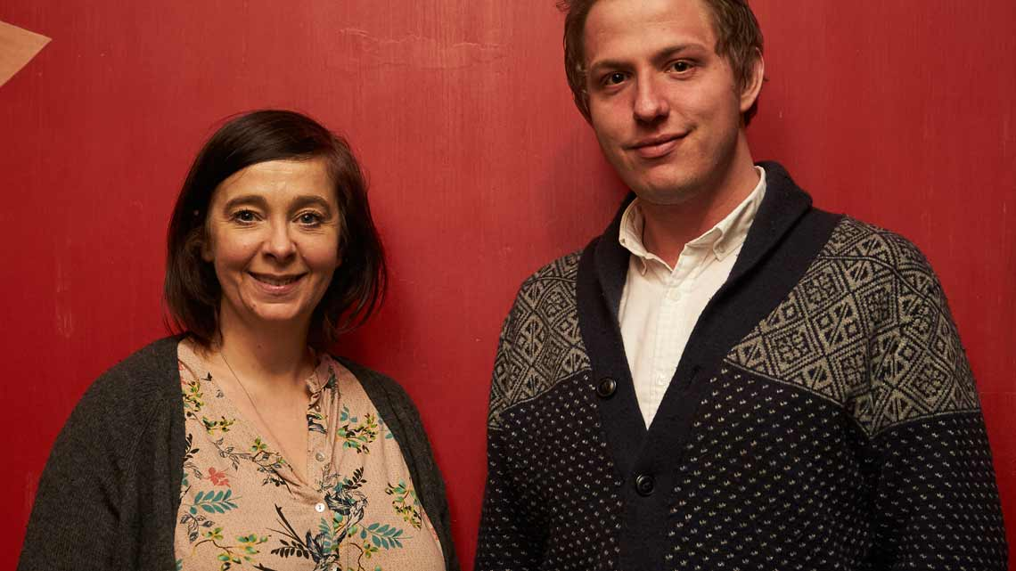 Royal Court Artistic Director, Vicky Featherstone & Brad Birch | Brad Birch awarded Royal Court Pinter Commission