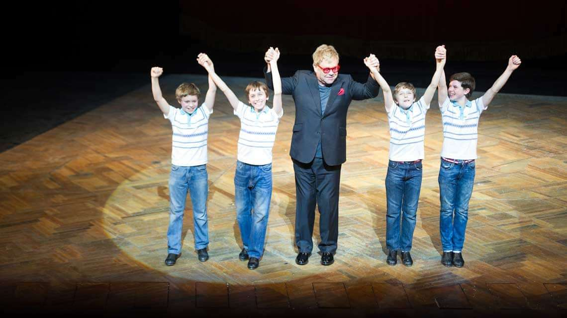 Billy Elliot final West End  performance | Photo: Craig Sugden | Elton John attends final West End performance of Billy Elliot