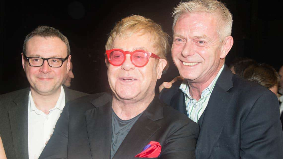 Lee Hall, Elton John & Stephen Daldry | Billy Elliot final West End  performance | Photo: Craig Sugden | Elton John attends final West End performance of Billy Elliot