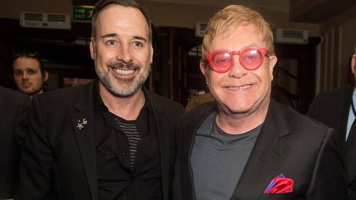 Elton John & David Furnish | Billy Elliot final West End  performance | Photo: Craig Sugden | Elton John attends final West End performance of Billy Elliot