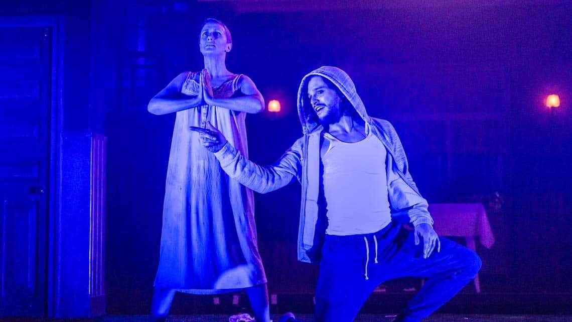 Doctor Faustus   Duke of York's Theatre   Kit Harington in Doctor Faustus