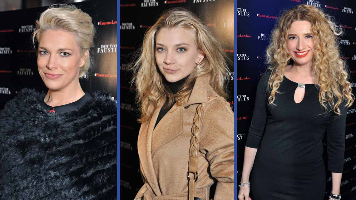 Hannah Waddingham, Natalie Dormer, Melanie Masson | Doctor Faustus Opening Night Party | Doctor Faustus Opening Night Party