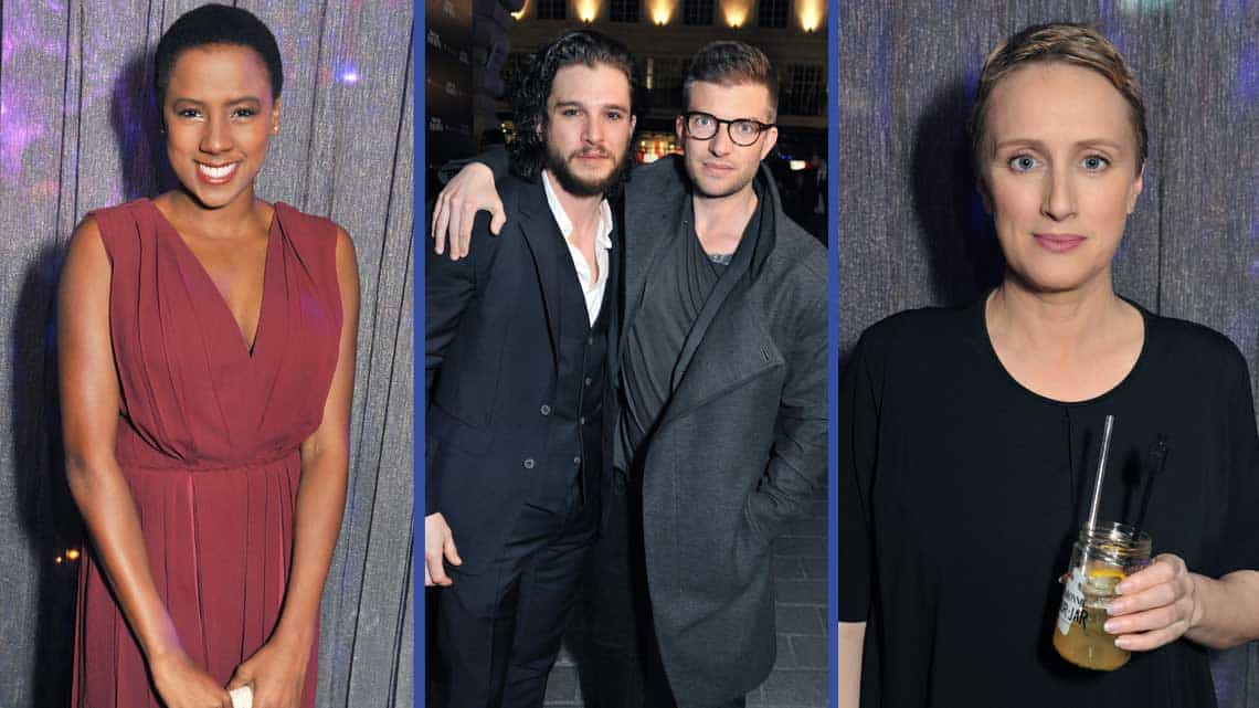 Jade Anouka, Kit Harington, Jamie Lloyd, Jenna Russell| Doctor Faustus Opening Night Party | Doctor Faustus Opening Night Party