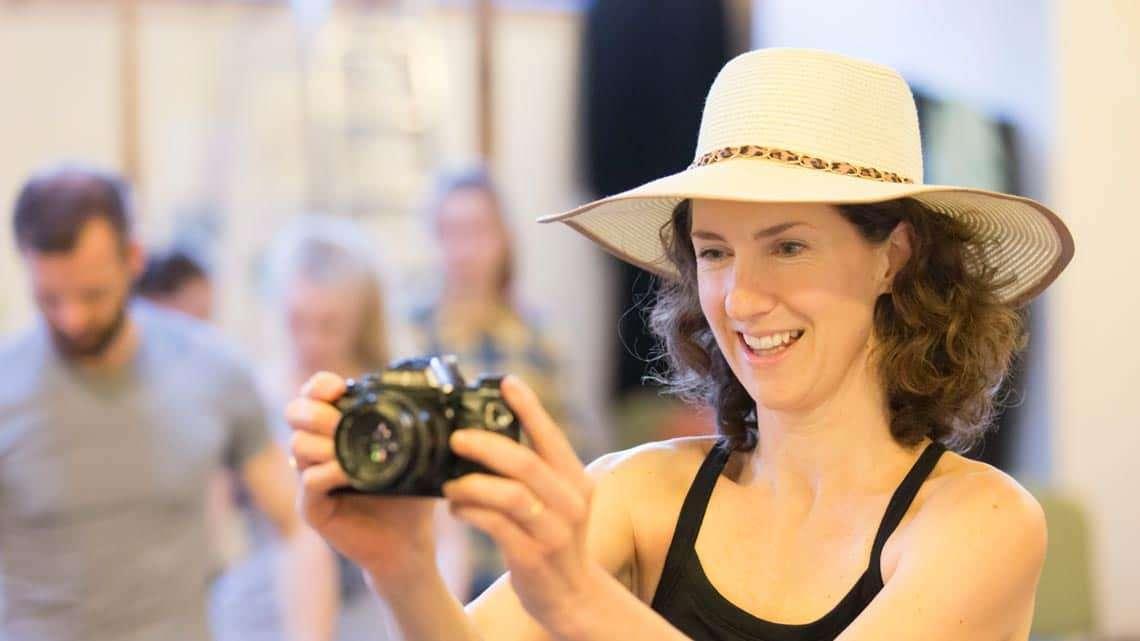 Hattie Ladbury as Mum. Photo Johan Persson | First Look: Running Wild in rehearsal