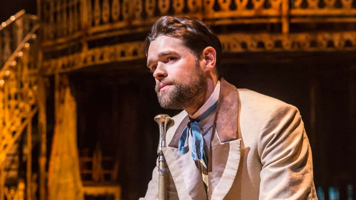 Chris Peluso (Gaylord Ravenal) in Show Boat. Photo credit Johan Persson | First Look: Show Boat at the New London Theatre