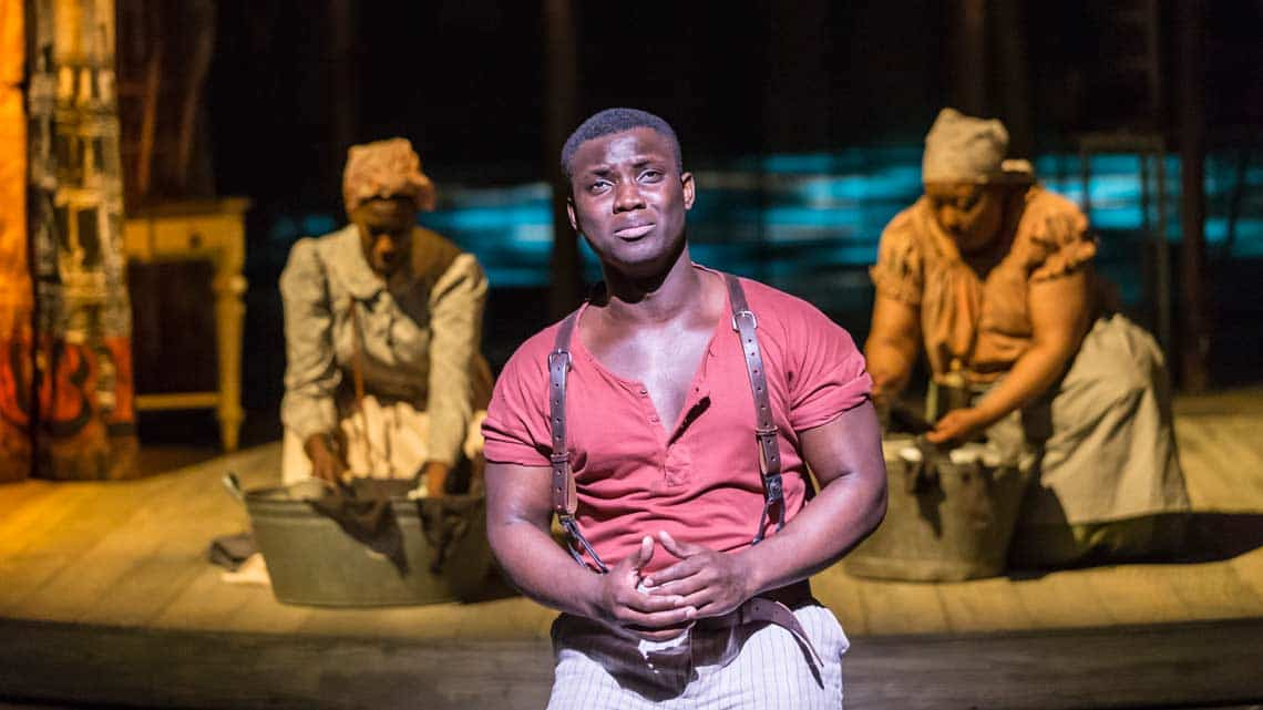 Emmanuel Kojo (Joe) in Show Boat. Photo credit Johan Persson | First Look: Show Boat at the New London Theatre