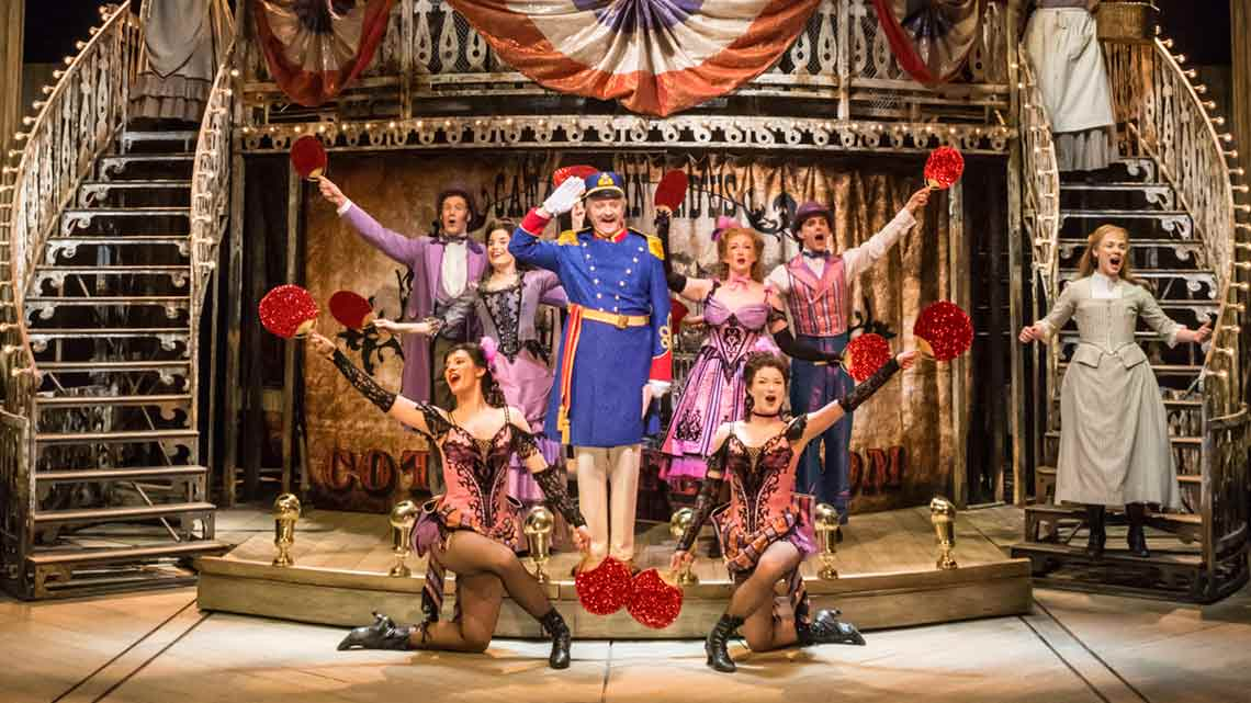 The cast of Show Boat. Photo by Johan Persson   First Look: Show Boat at the New London Theatre