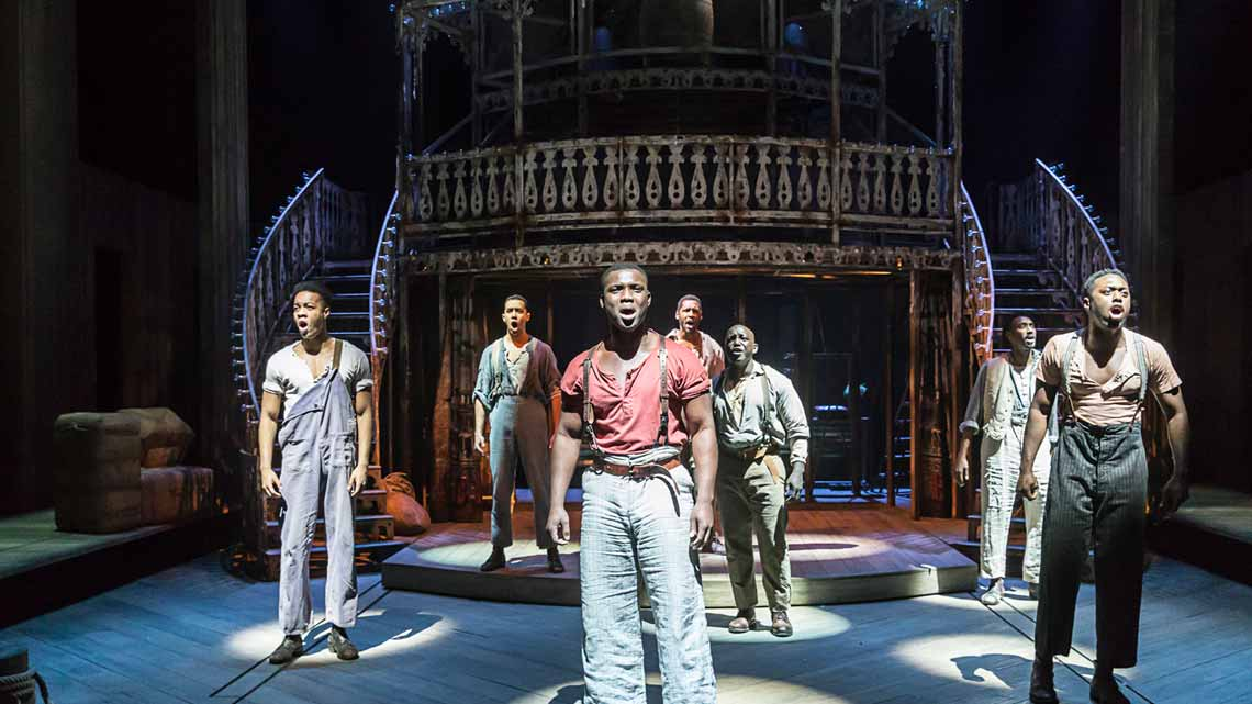 The cast of Show Boat. Photo by Johan Persson | First Look: Show Boat at the New London Theatre