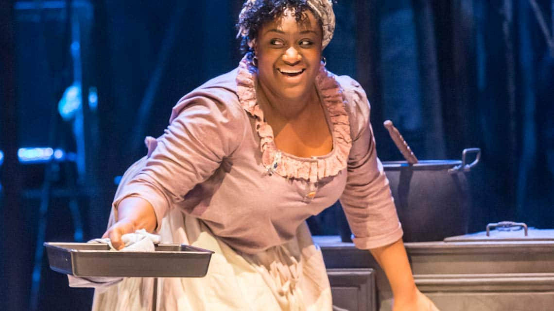 Sandra Marvin (Queenie) in Show Boat. Photo credit Johan Persson | First Look: Show Boat at the New London Theatre