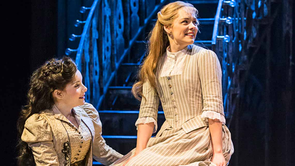 Rebecca Trehearn (Julia La Verne) and Gina Beck (Magnolia Hawks) in Show Boat. Photo credit Johan Persson | First Look: Show Boat at the New London Theatre