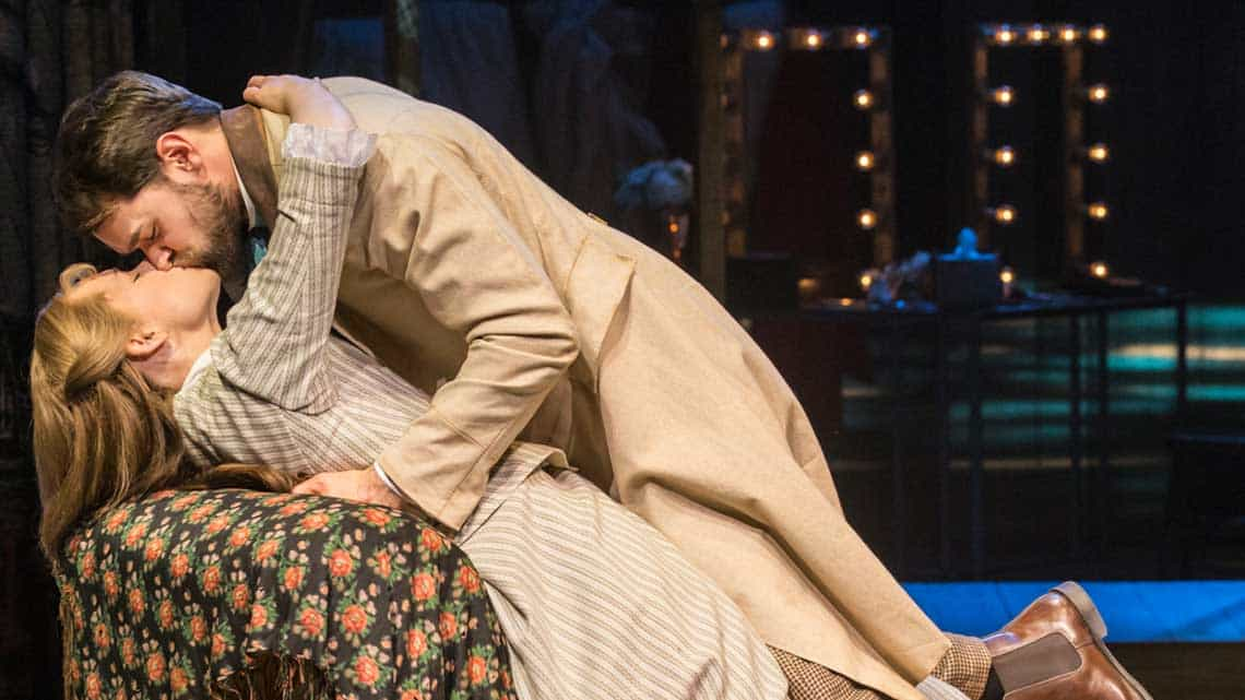 Gina Beck (Magnolia Hawks) and Chris Peluso (Gaylord Ravenal) in Show Boat. Photo credit Johan Persson   First Look: Show Boat at the New London Theatre